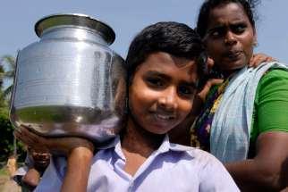 INDE du SUD Paysans dans une rizière vers Madras