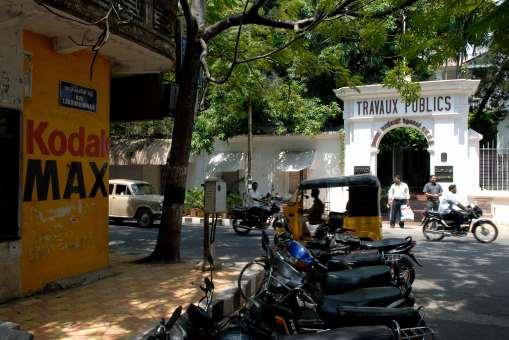 INDE du SUD A Pondichéry, dans le secteur français