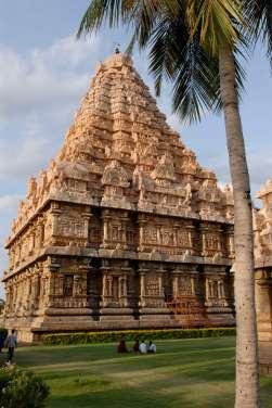 INDE du SUD Gangakondacholapuram Temple de Brihadishwara, temple Chola consacré à Shiva