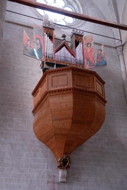 SUISSE - Valais Sion Basilique de Valère Orgue ancien