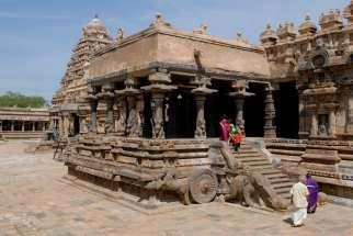 INDE du SUD Dharasuram Temple Chola d'Airavatesvara