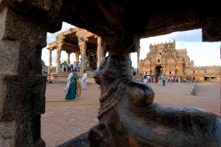 INDE du SUD Tanjore Temple Chola de Brihadishwara