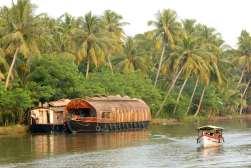 INDE du SUD Kerala Kumarakom, backwaters Bateaux de croisière