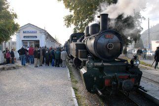 ARDECHE Le Chemin de Fer du Vivarais, à partir de Tournon