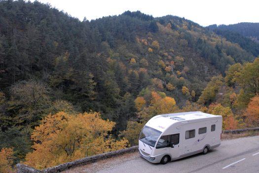 ARDECHE En camping-car au coeur de la châtaigneraie