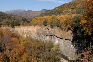 ARDECHE Coulée basaltique de Fabras