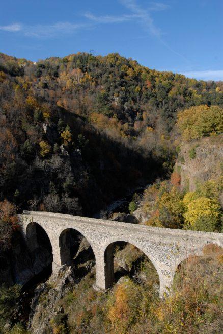 ARDECHE Pont de l'Echelette