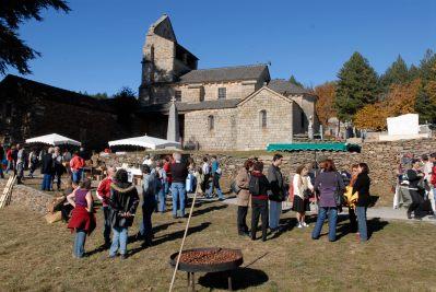 ARDECHE Une castagnade dans un village d'Ardèche