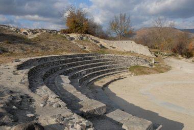 ARDECHE Théâtre romain d'Alba-la-Romaine