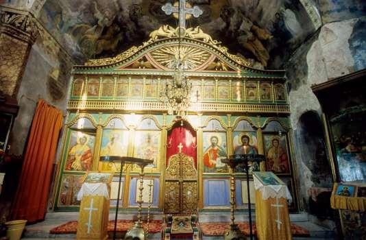 BULGARIE Iconostase de l'église de Gabrovo
