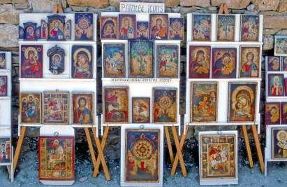 BULGARIE Icônes à Veliko Turnovo
