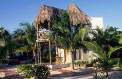 MEXIQUE - Yucatan Bungalow du Shangri-La à Playa del Carmen