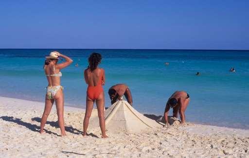 MEXIQUE - Yucatan Plage de Playa del Carmen