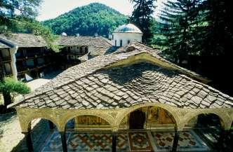 BULGARIE Monastère de Troyan