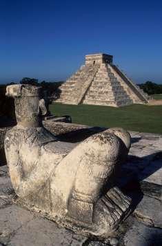 MEXIQUE - Yucatan Chitzen Itza, le Chac-Mool