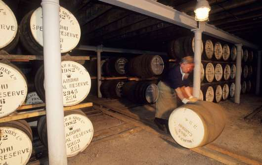 ECOSSE Entrepôt de la distillerie Carhu à Knockando