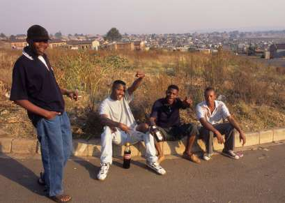 AFRIQUE du SUD A Soweto