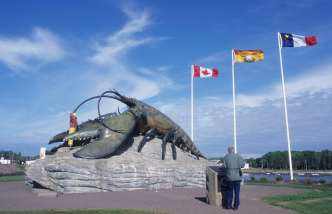CANADA Nouveau-Brunswick Shédiac, capitale du homard