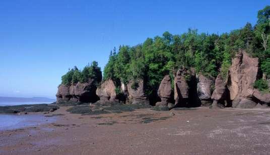 CANADA Nouveau-Brunswick Hopewell Rocks