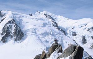 ITALIE - Val d'Aoste Vue depuis l'Aiguille du Midi