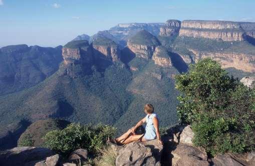 AFRIQUE du SUD Drakensberg Les Trois Rondavels