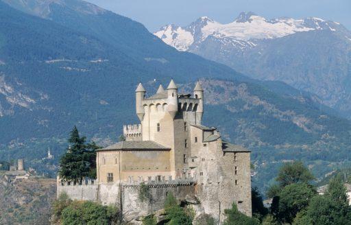 ITALIE - Val d'Aoste Château de Saint-Pierre