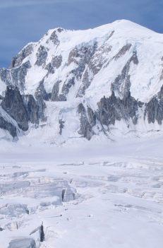 ITALIE - Val d'Aoste Vallée Blanche et glacier du Géant