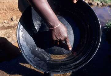 AFRIQUE du SUD - Kwazulu Natal Orpaillage à Pilgrim's Rest