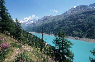 ITALIE - Val d'Aoste Valpelline Lac de Place Moulin