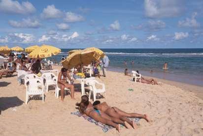 BRESIL - Salvador Da Bahia Plage d'Arembepe
