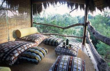 AFRIQUE du SUD Réserve de Makalali Poste de repos dans les arbres