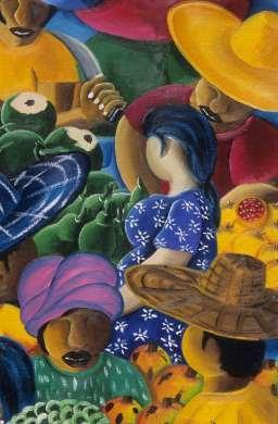 BRESIL - Salvador Da Bahia Peinture vendue dans le Pelourinho