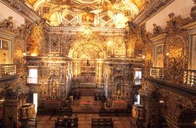 BRESIL - Salvador Da Bahia Eglise Sao Francisco