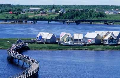 CANADA Nouveau-Brunswick Pays de la Sagouine, à Bouctouche