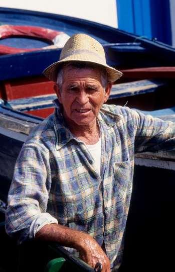 Pêcheur à El Moni