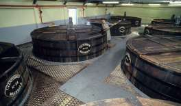 ECOSSE Salle de fermentation de Glenfiddish
