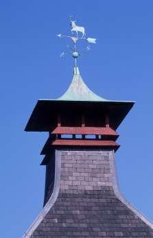 ECOSSE Toit caractéristique en forme de pagode des distilleries en Ecosse