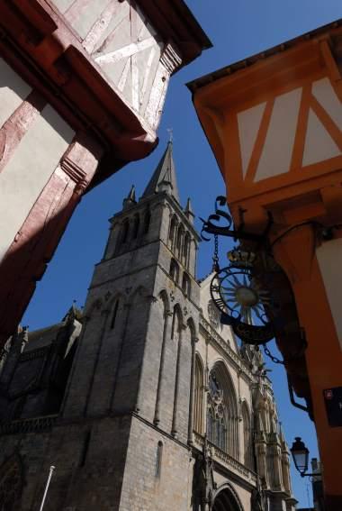 MORBIHAN Golfe du Morbihan Vieux Vannes Cathédrale St-Pierre