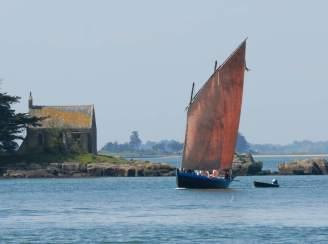 MORBIHAN Golfe du Morbihan Sinagot vers Port-Anna