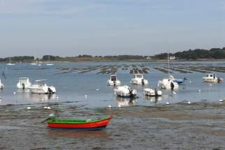 MORBIHAN Golfe du Morbihan Port du Logéo, dans la presqu'île de Rhuys
