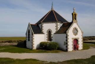MORBIHAN Golfe du Morbihan Presqu'île de Rhuys Chapelle de Notre-Dame-de-la-Côte, à la pointe de Penvins