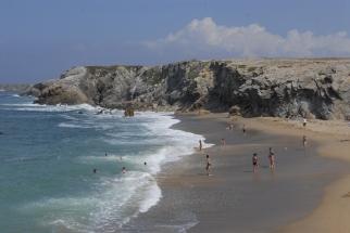 MORBIHAN Presqu'île de Quiberon Côte Sauvage Plage Port Bara