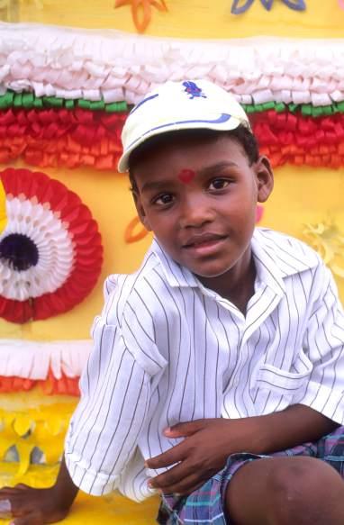LA REUNION Jeune tamoul à St-André