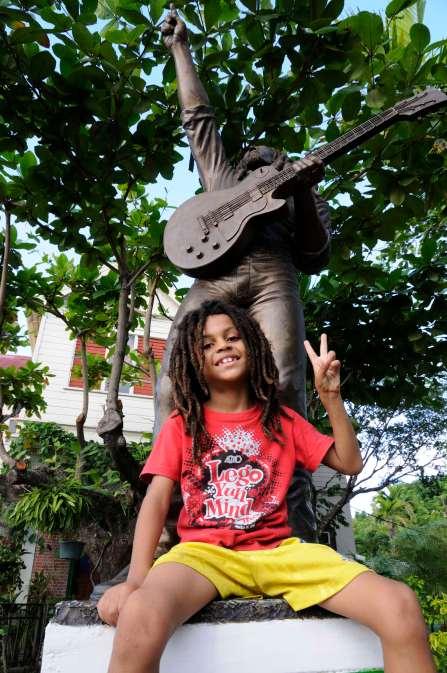 JAMAÏQUE - Kingston Musée de Bob Marley