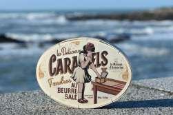 BRETAGNE - Morbihan - Quiberon Boîte de caramels au beurre salé de l'Armorine