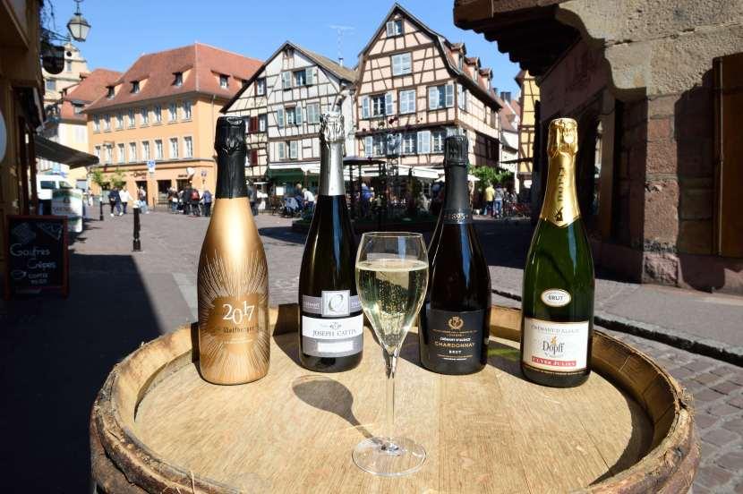 Le crémant d'Alsace