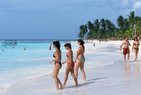 LA REPUBLIQUE DOMINICAINE Plage de l'île Saona