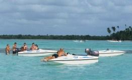LA REPUBLIQUE DOMINICAINE Hauts fonds vers l'île de Saona