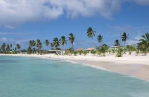 LA REPUBLIQUE DOMINICAINE Plage de l'île Saona, à Mano Juan