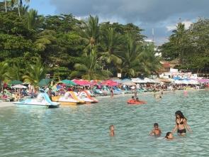 LA REPUBLIQUE DOMINICAINE Plage très populaire de Boca Chica